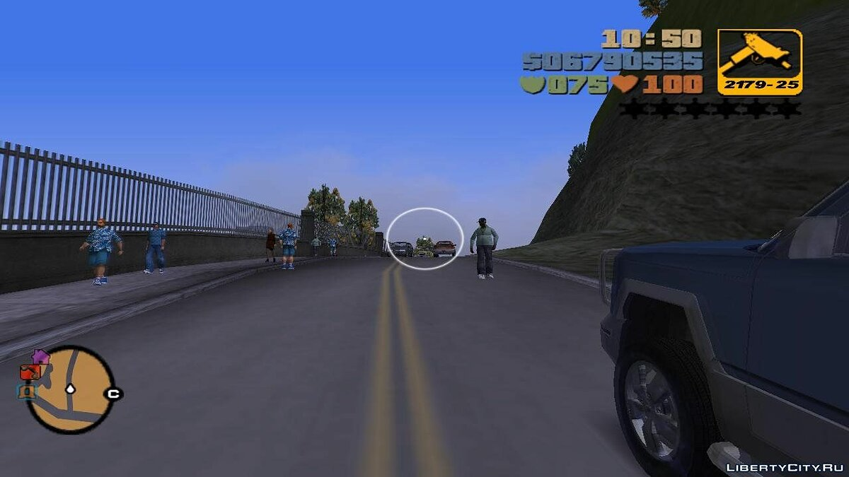 GTA III First Person Mod для GTA 3