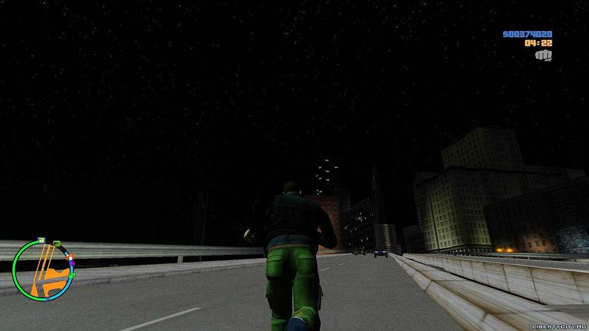 Liberty City - Sky Full Of Stars для GTA 3