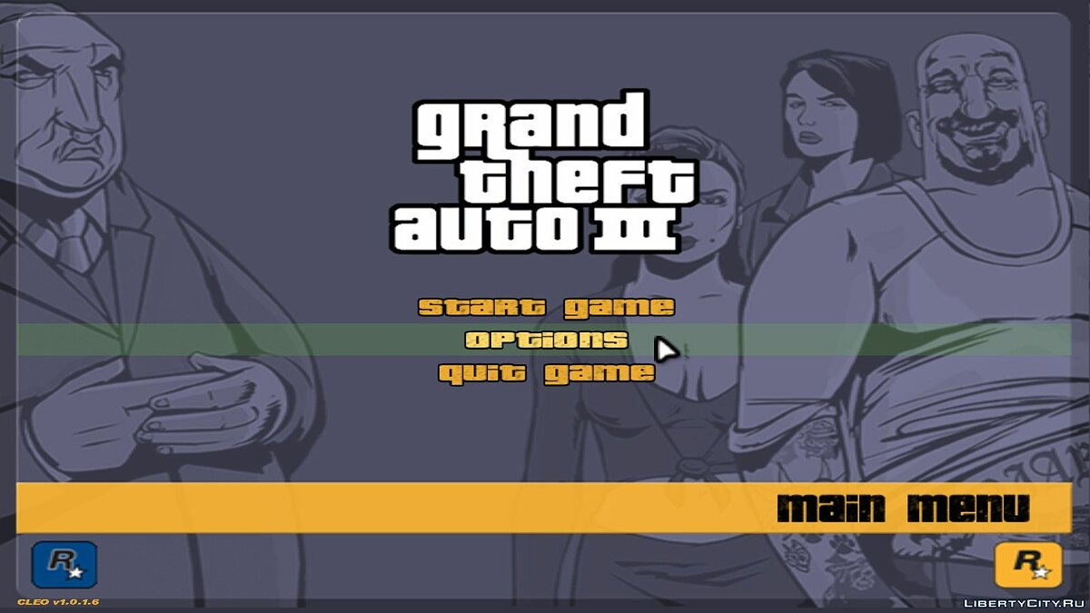 GTA III: Widescreen Fix для GTA 3 - скриншот #2