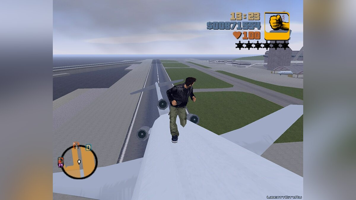 ��од Collision Fix для GTA 3