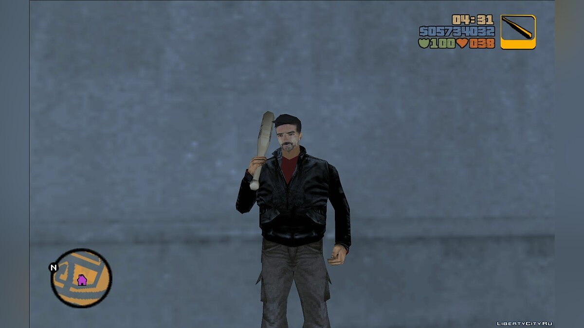 Negan (The Walking Dead) для GTA 3 - скриншот #2