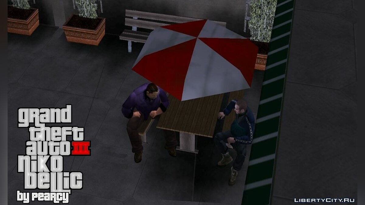 ��овый персонаж NIKO BELLIC FOR GTA III для GTA 3