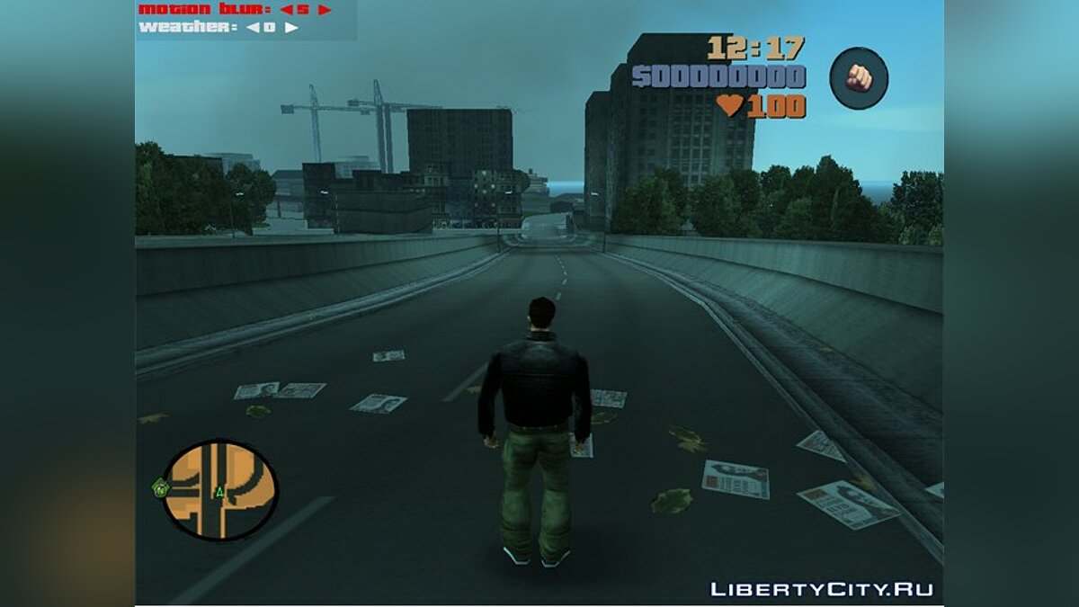 Weather and MB Control для GTA 3