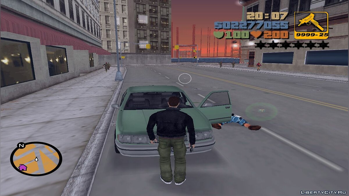��криптовый мод Breakable Windshields для GTA 3