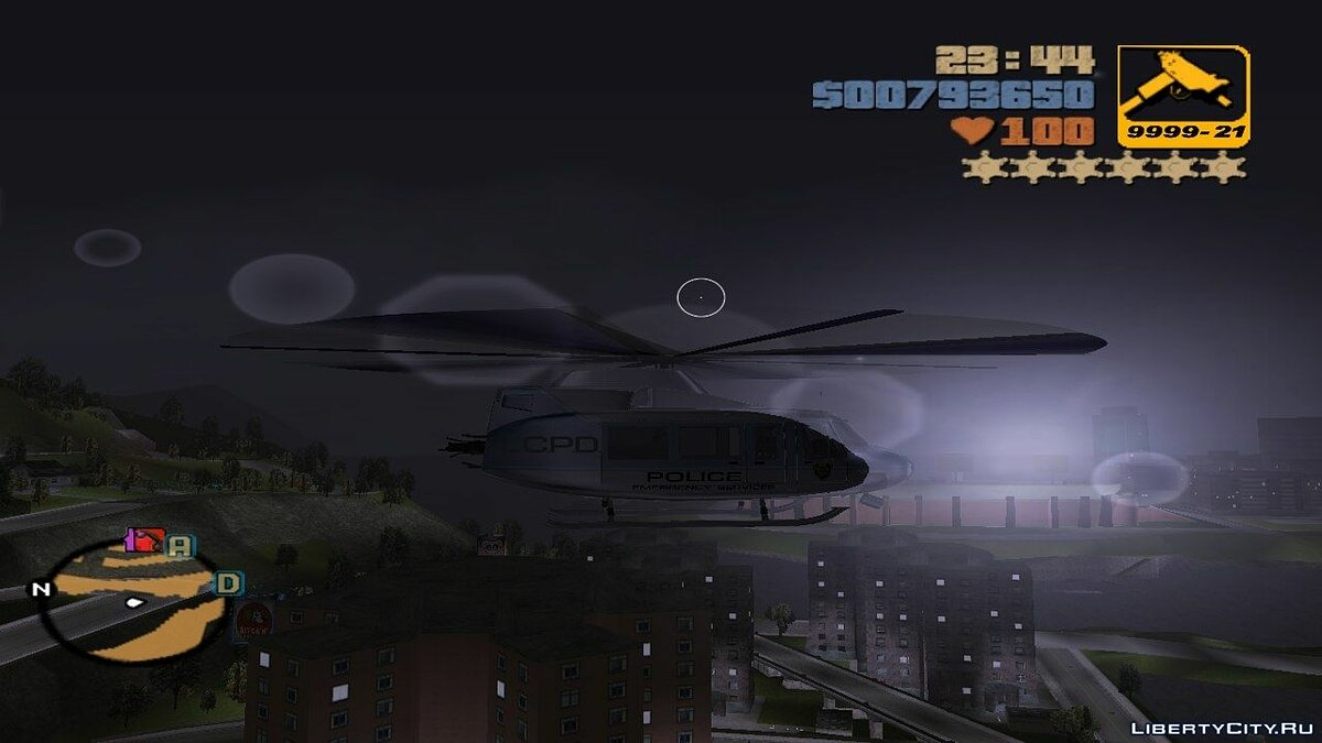 Helicopter Control для GTA 3