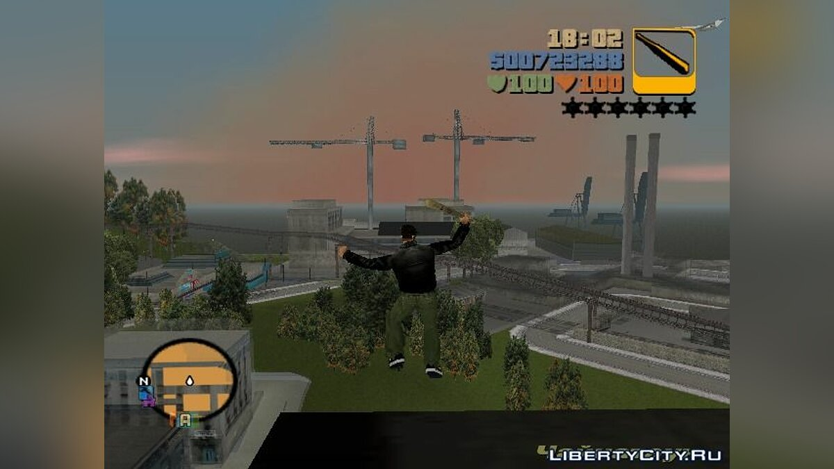 AIR CLEO cheat from GTA:SA для GTA 3 - скриншот #3