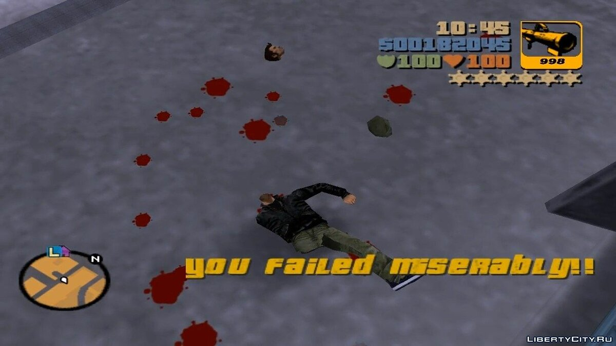 Gore Level Effect для GTA 3