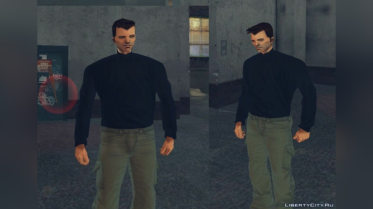 Сборник скинов Evolution of Claude - Ранние версии Клода для GTA 3