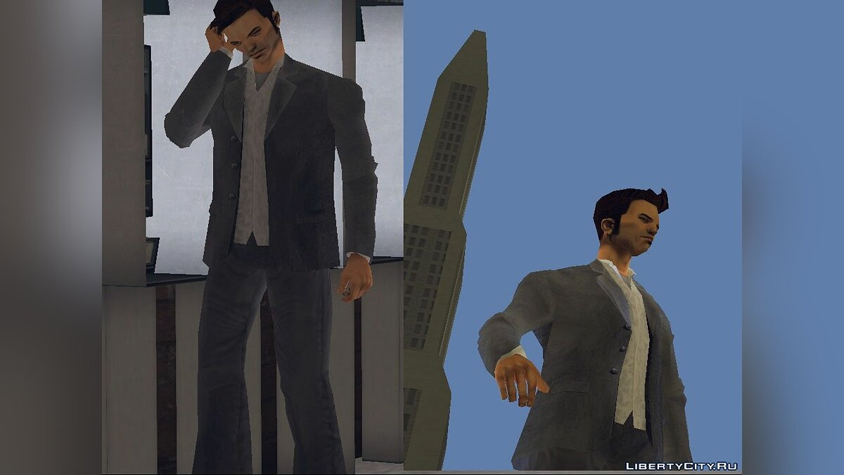 Сборник скинов Made Man Claude для GTA 3