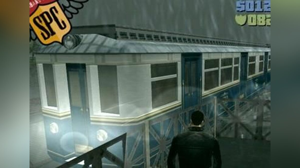 Поезд Lost Heaven Subway для GTA 3
