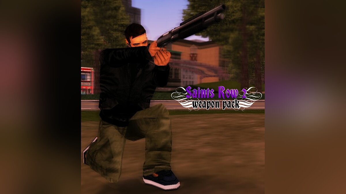 Saints Row 2 Weapon Pack для GTA 3