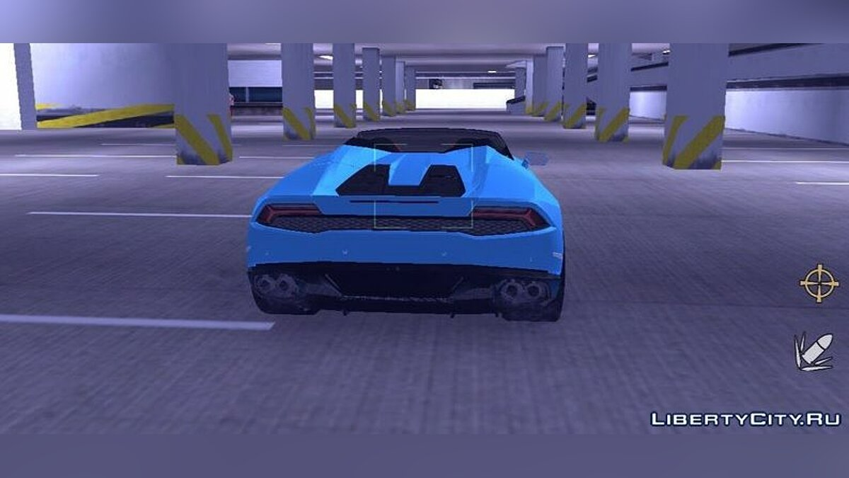 Машина Lamborghini Huracan Spyder для GTA 3 (iOS, Android)