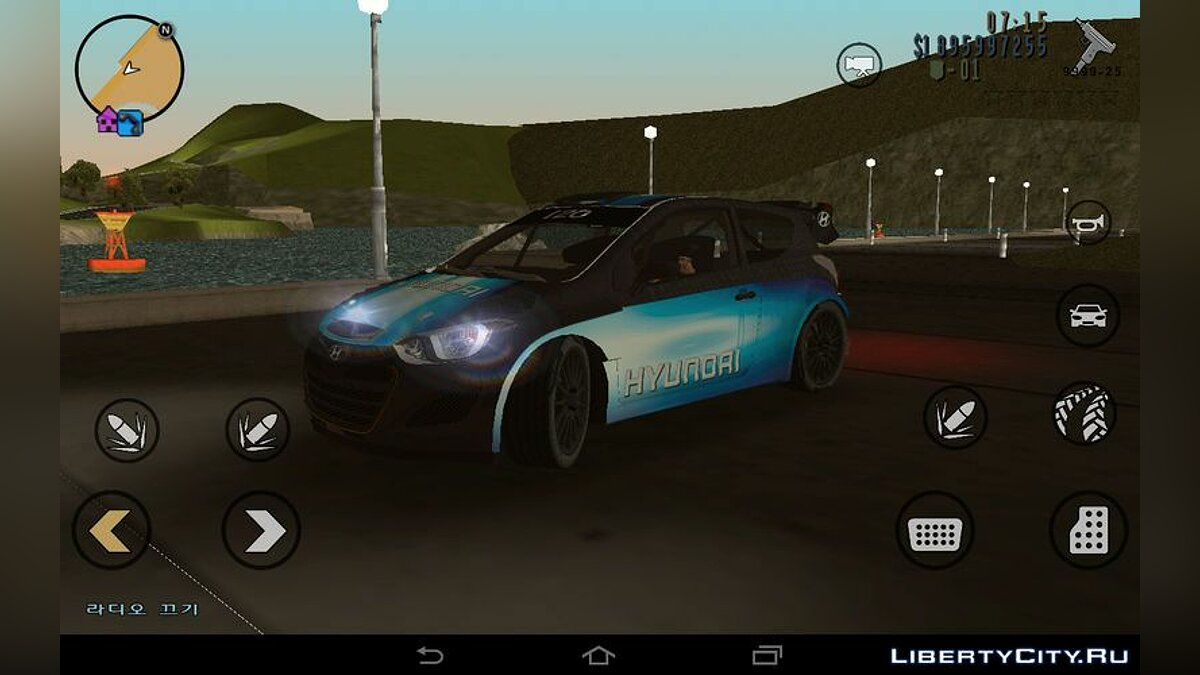 Машина Hyundai i20 WRC для GTA 3 (iOS, Android)