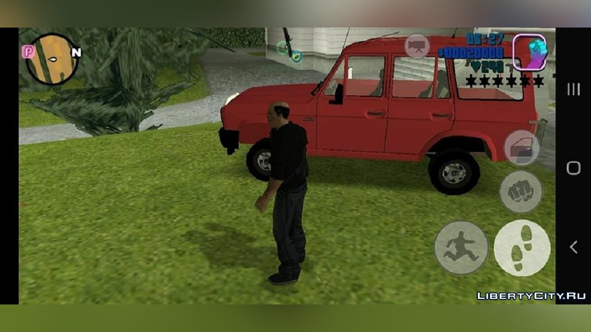 Машина Aro 244 Forester  для GTA 3 (iOS, Android)