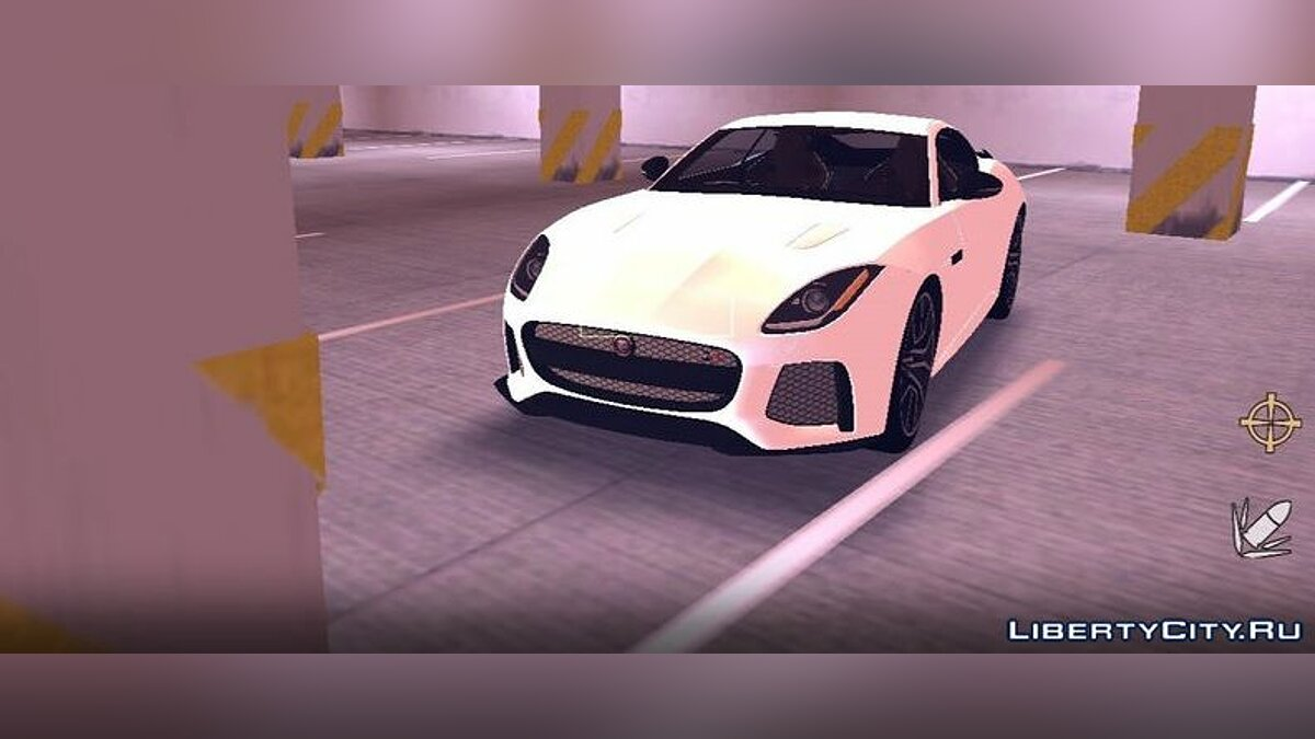 Машина 2016 Jaguar F Type SVR для GTA 3 (iOS, Android)