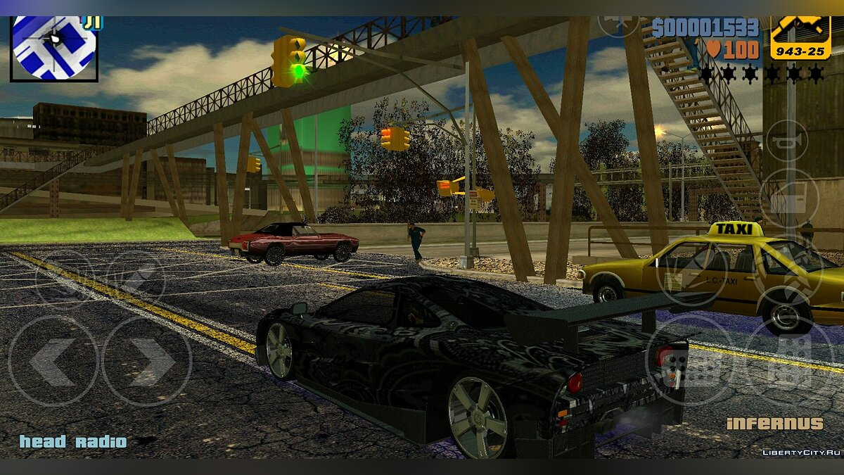 ��ольшой мод Nice pack by Arturo Carmona для GTA 3 (iOS, Android)