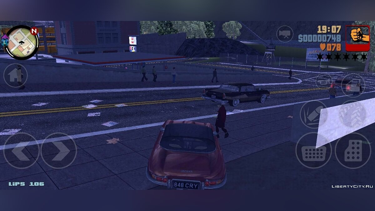 Большой мод GTA 3 Liberty City 1969 Demo v0.1 для GTA 3 (iOS, Android)