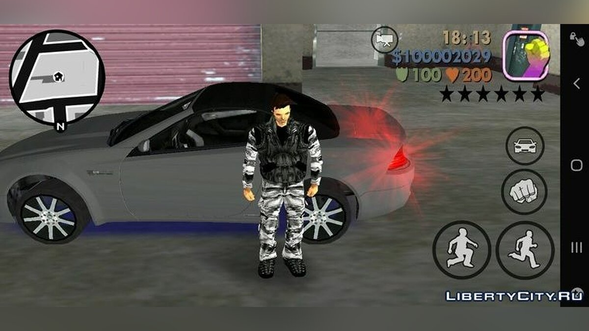Мод Худ из GTA Vice City для GTA 3 (iOS, Android)