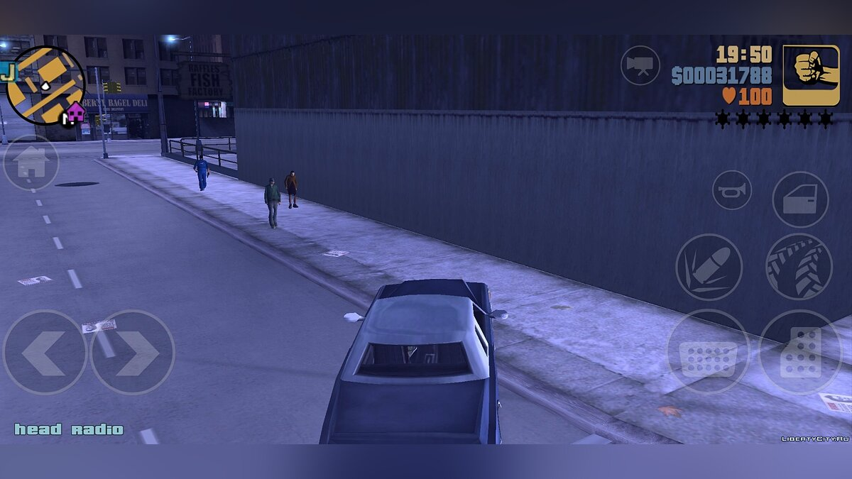 Мод Новое HEAD Radio для GTA 3 (iOS, Android)
