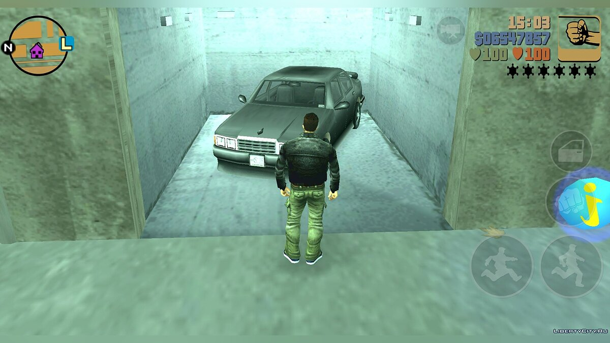 Сохранение GTA III Starter Save By Bunik для GTA 3 (iOS, Android)