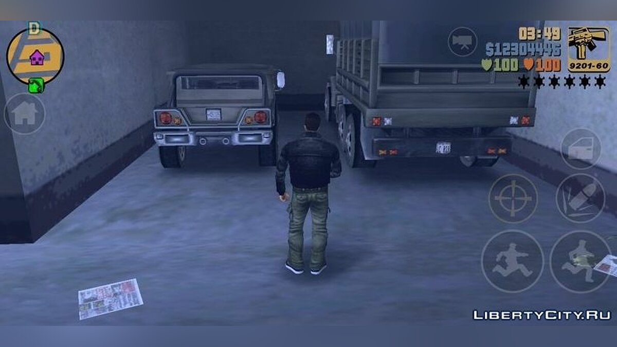 Сохранение 93% save для GTA 3 Android для GTA 3 (iOS, Android)