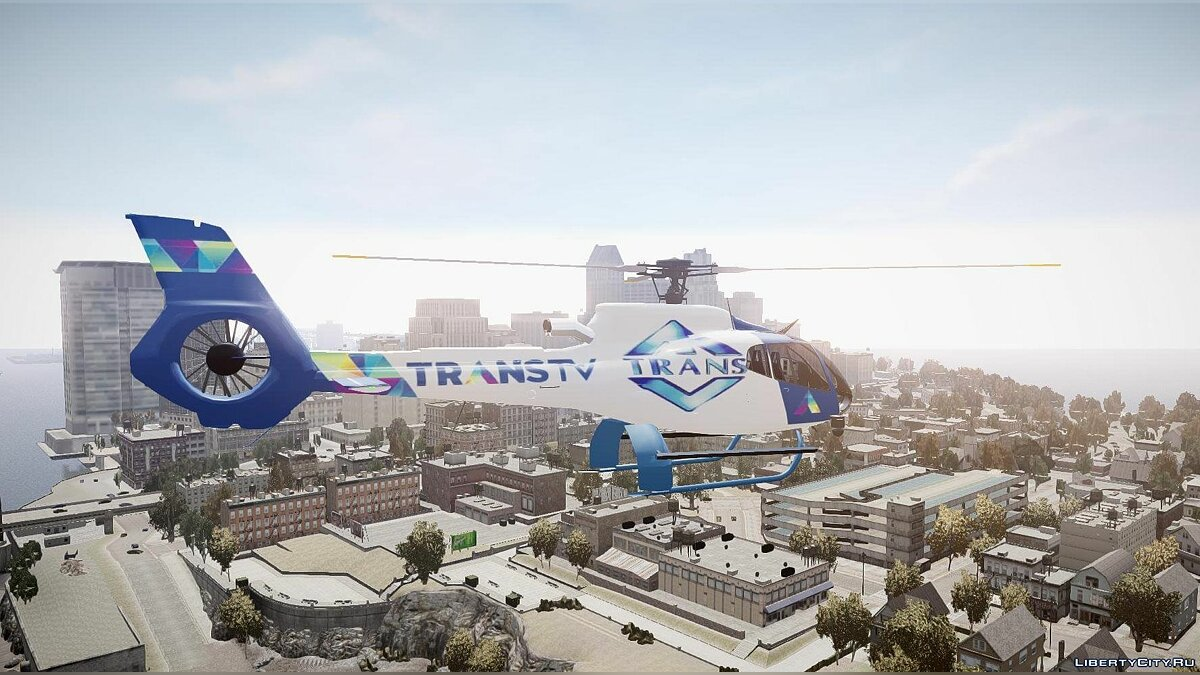 Eurocopter EC130 B4 TRANS TV для GTA 4 - скриншот #3