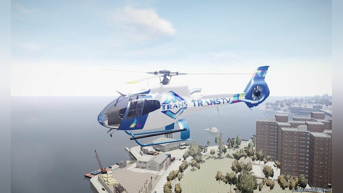 Eurocopter EC130 B4 TRANS TV для GTA 4 - скриншот #2