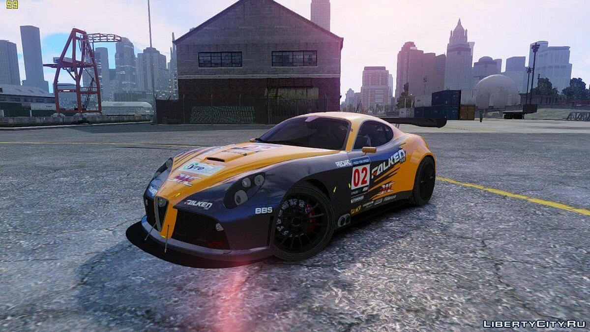 Alfa Romeo 8c Body Kit 1 (NFS SHIFT 2) для GTA 4