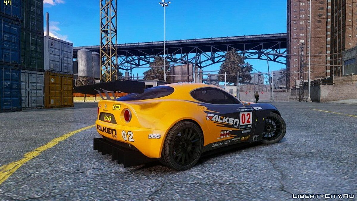 Alfa Romeo 8c Body Kit 1 (NFS SHIFT 2) для GTA 4 - скриншот #4