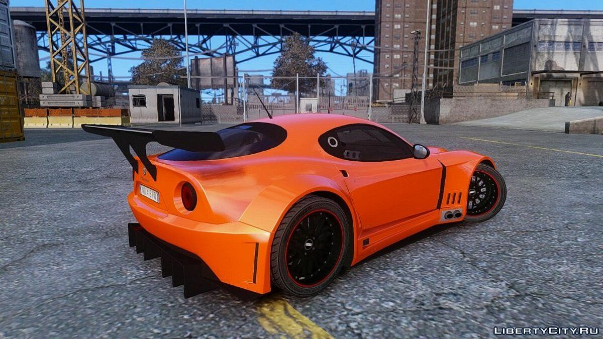 Alfa Romeo 8c Body Kit 2 (NFS SHIFT 2) для GTA 4 - скриншот #3