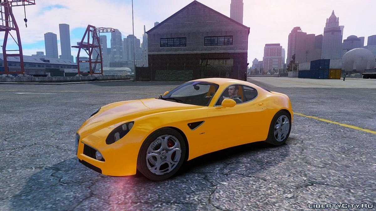 Alfa Romeo 8c stock NFS SHIFT 2 by Imtaj для GTA 4