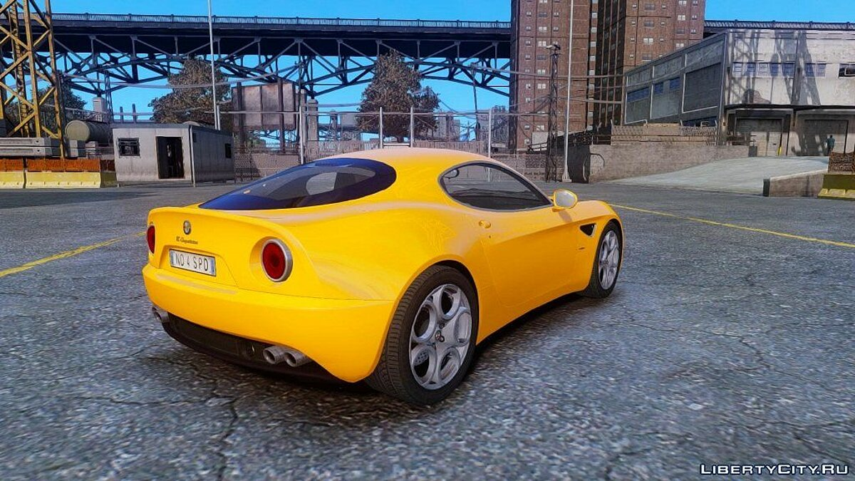 Alfa Romeo 8c stock NFS SHIFT 2 by Imtaj для GTA 4 - скриншот #2