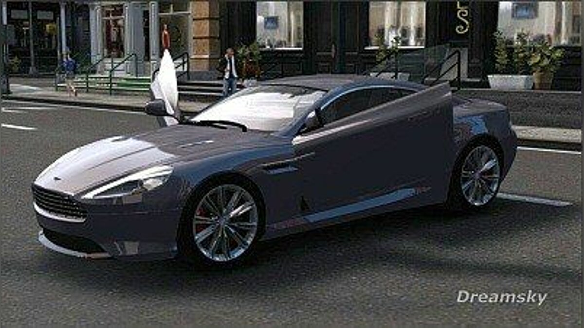 2012 Aston Martin Virage для GTA 4