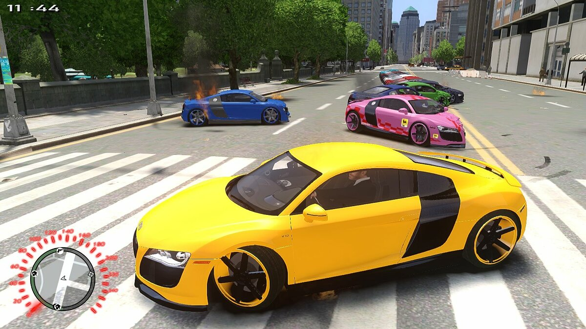 Audi R8 PPI Threep Edition для GTA 4