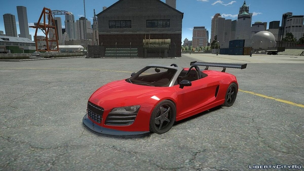 Audi R8 Spider Body Kit (NFS SHIFT 2) для GTA 4