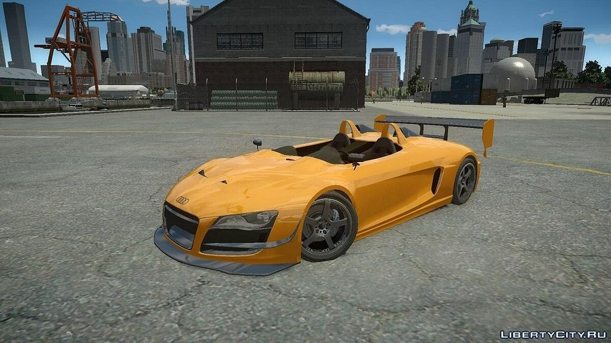 Audi Spider Body Kit Final для GTA 4