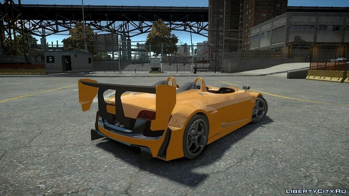 Audi Spider Body Kit Final для GTA 4 - скриншот #2