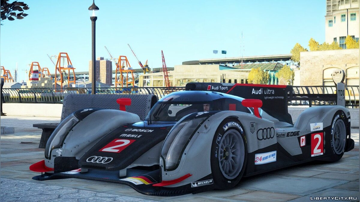 Audi R18 TDI (Revised) для GTA 4 - скриншот #2