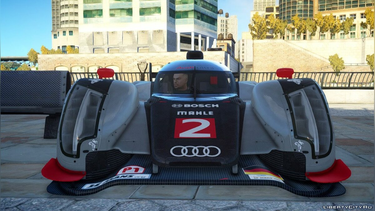 Audi R18 TDI (Revised) для GTA 4 - скриншот #3