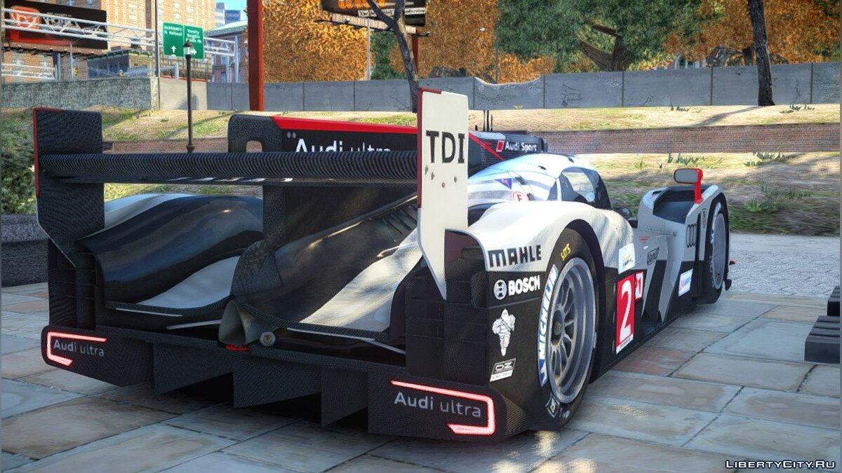Audi R18 TDI (Revised) для GTA 4 - скриншот #4