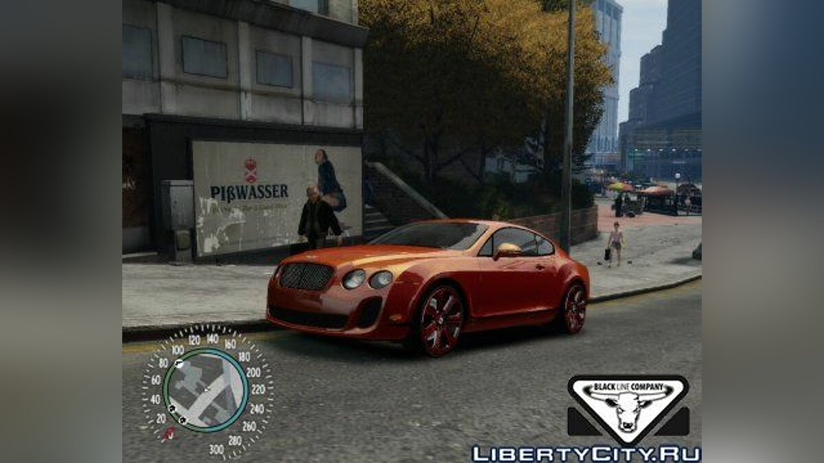 Bentley Continental SS Additional Version для GTA 4