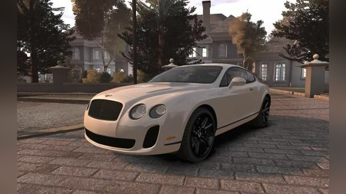 Bentley Continental SuperSports 2010 [EPM] для GTA 4