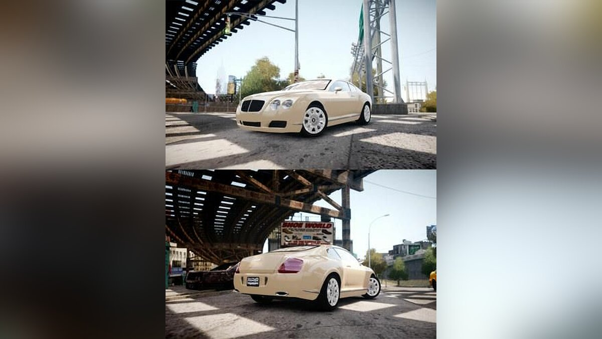Машина Bentley 2004 Bentley Continental GT для GTA 4