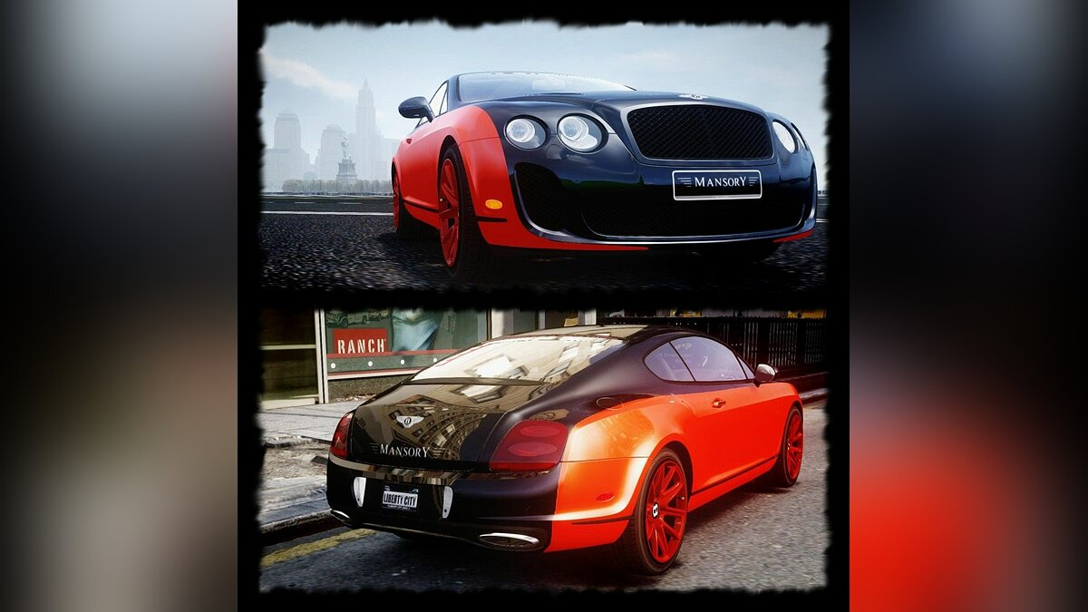 Bentley Continental SS  Le Mansory [EPM] для GTA 4 - Картинка #1