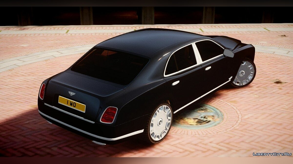 Машина Bentley Bentley Mulsanne 2014 для GTA 4