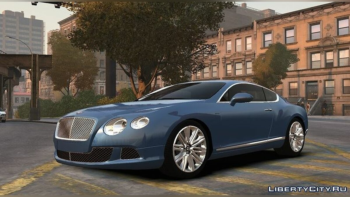 Машина Bentley 2013 Bentley Continental GT Speed v1.0 для GTA 4