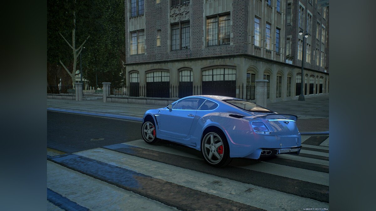 Машина Bentley Bentley Continental HyperSports Cross Hamman Limited Edition для GTA 4