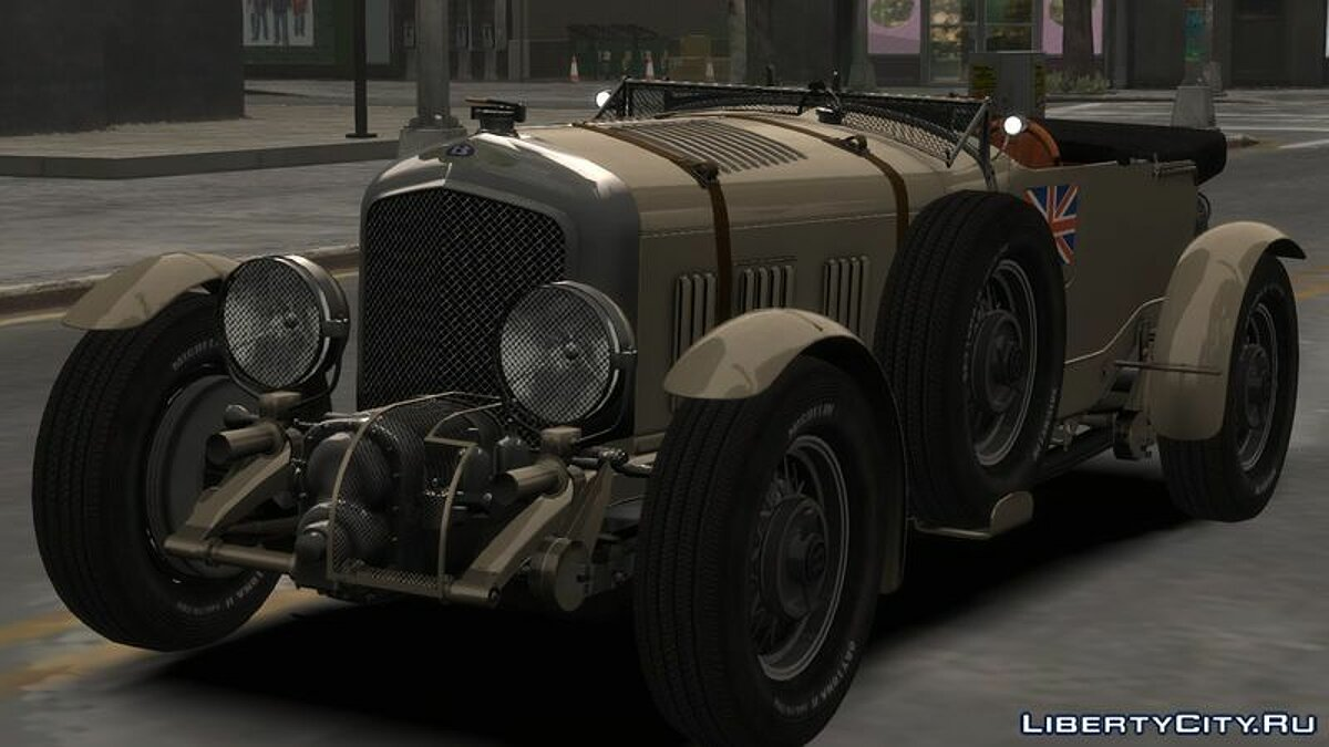 Машина Bentley Bentley Blower 4 1/2 Litre (Beta) для GTA 4