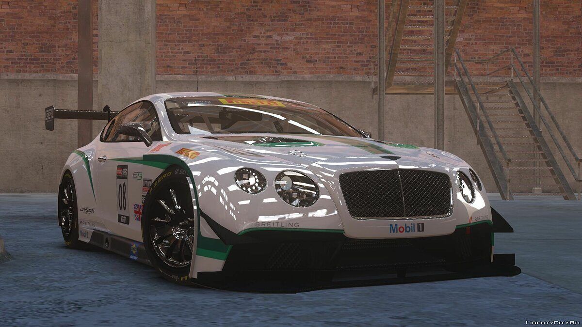 Машина Bentley 2014 Bentley Continental GT3 для GTA 4