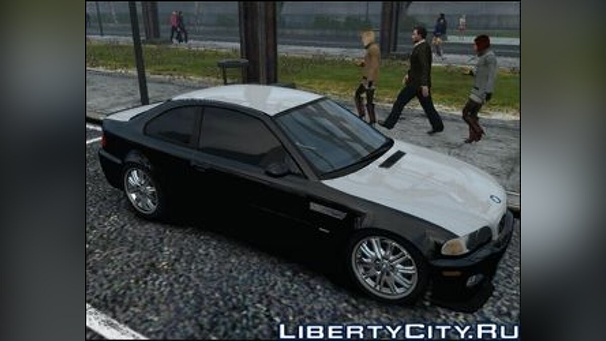 BMW M3 E46 2001 Coupe v.2 для GTA 4
